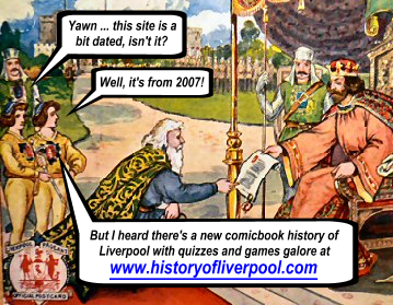 Image of two valets talking about the new History of Liverpool website