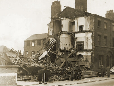 Liverpool Blitz Clarence Street